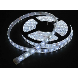 Ruban Flexible 5050 60 LED/M. IP44 230 Volts direct 6000K