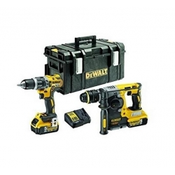 "SET Perforateur+Visseuse DeWalt ""DCK207P2"" 18V 5Ah"