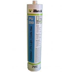 Colle de montage Illbruck PU200 blanche 310ml.