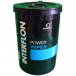 Lingettes de nettoyage humide Interflon Power Wipes 90 pces