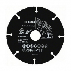 Disque à tronçonner Carbide Multi Wheel BOSCH 125mm