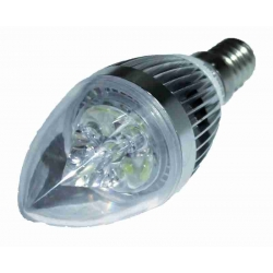 Ampoule LED 3 Watt E14 6000 Kelvin