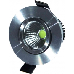 Downlight LED pivotant 3 watt 3000 Kelvin