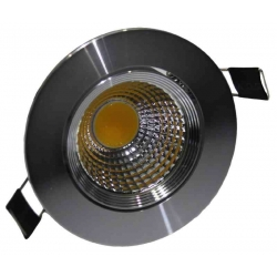 Downlight LED pivotant 5 Watt DIMMABLE 3000 Kelvin
