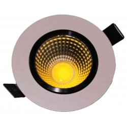 Downlight LED pivotant 7 Watt 3000 Kelvin