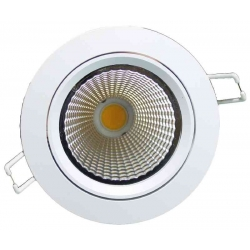 Downlight LED pivotant 22 Watt DIMMABLE 3000 Kelvin