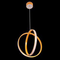Suspension DESIGN LED 51,8 Watt 230V orange