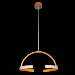 Suspension DESIGN LED 36,5 Watt 230V orange